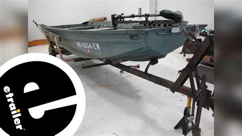 yates boat trailer keel roller and ce smith bracket - Boat Trailer Keel Roller Installation