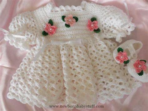 vestido en crochet para recin nacida crochet baby dress crochet vestido de beb 233 reci 233 n nacido