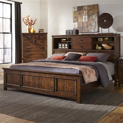 california king bookcase headboard california king bookcase bed by intercon wolf and