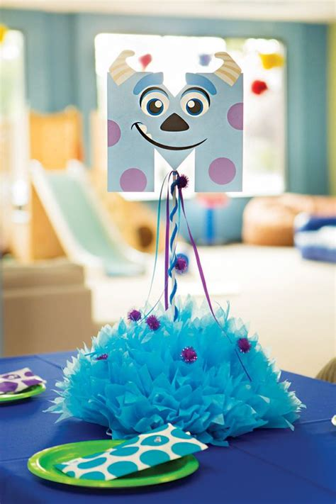 25 best ideas about monsters inc centerpieces on