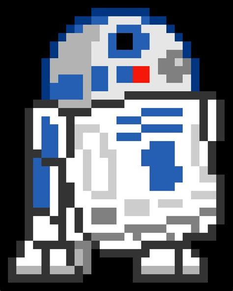 pixel wars pixel star wars images google search r2 d2 pinterest