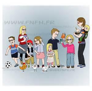 famille nombreuse famille heureuse 8 enfants pour