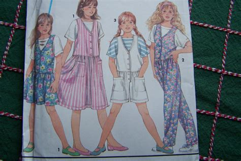 pattern for jumper shorts girls easy to sew jumper dress pants or shorts jumpsuit