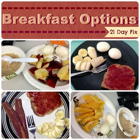 8 Fix Breakfasts For by Check Out These 21 Day Fix Breakfast Options Http