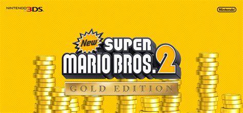 Bros Gold 3 new mario bros 2 gold edition 3ds cia