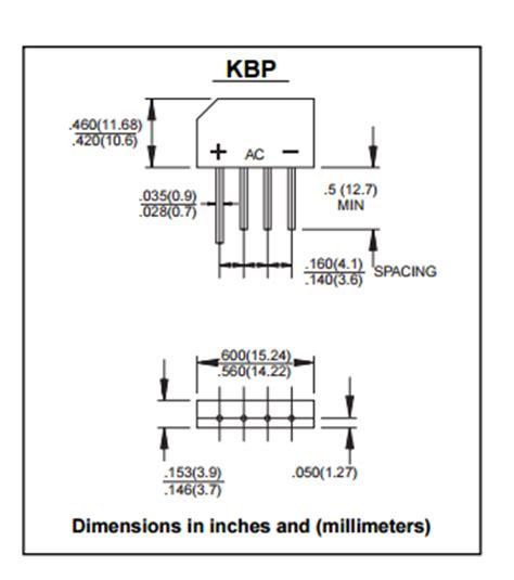 diodes kbp206g single phase bridge 3 pin transistor silicon rectifier diode kbp206g
