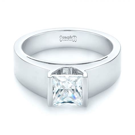 Modern Engagement Rings by Modern Solitaire Engagement Ring 103264