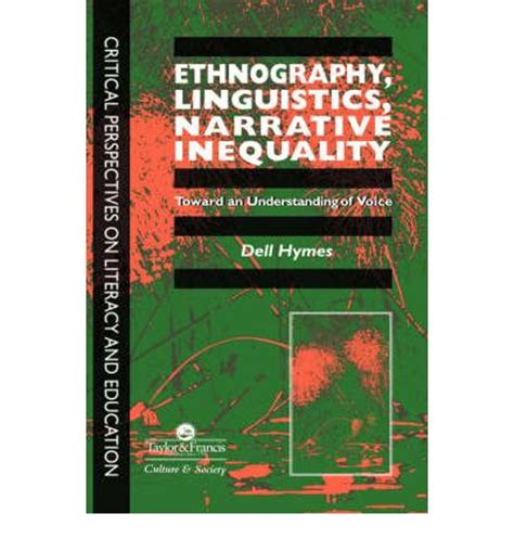 narratives a linguistic study books ethnography linguistics narrative inequality dell h