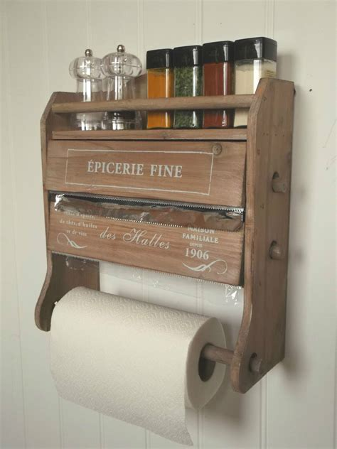 shabby chic kitchen roll holder shabby chic kitchen roll dispenser cling tin