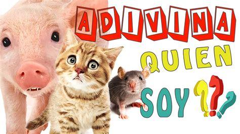 libro quin soy animales adivina quien soy 1 v 205 deos para ni 209 os peque 209 os adivinanzas infantiles con los animales en