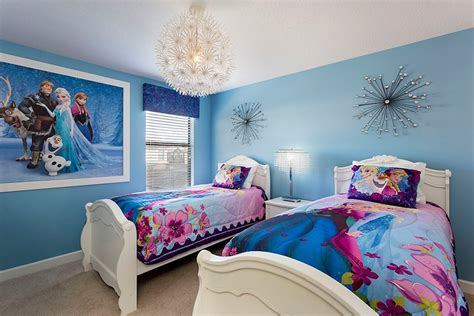 frozen themed bedroom luxury 8 bedroom 5 bath rental on the retreat at chions