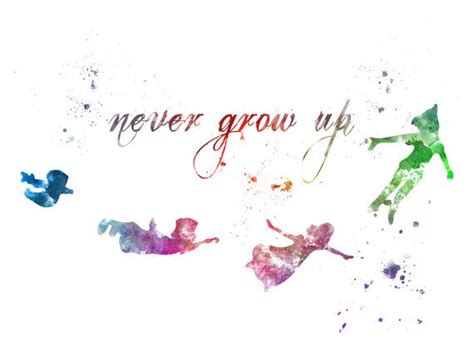 tattoo quotes growing up never grow up tattoo peter pan www pixshark com images