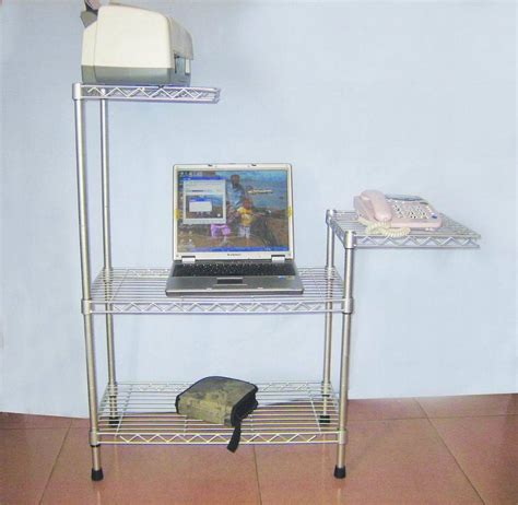 china steel wire computer desk dy070163 china rack