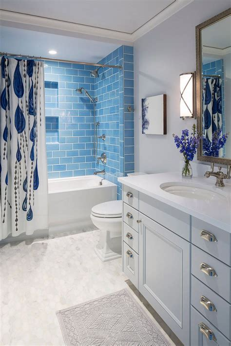 best 25 blue bathroom tiles ideas on