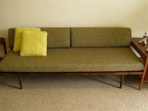 mid century modern daybed classic daybed by gomodretro on etsy