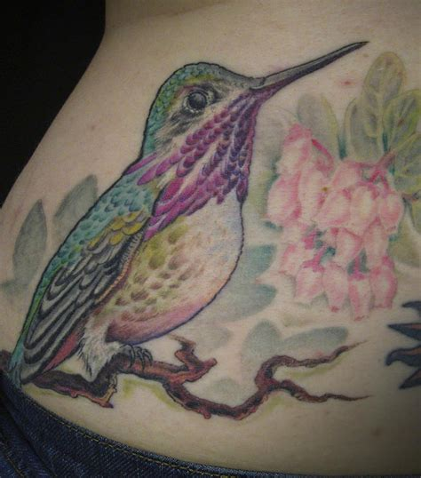 realistic hummingbird tattoos realistic hummingbird on tattooimages biz