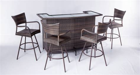 Outdoor Patio Furniture Bar Sets Furniture Essentials For Your Restaurant Patio