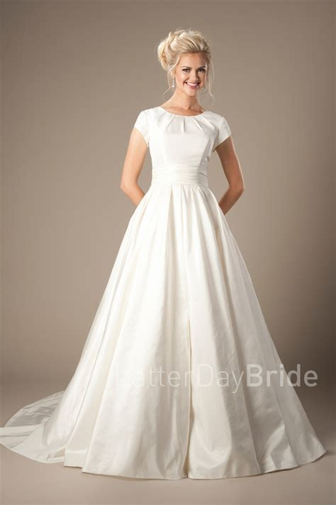 Modest Wedding Dresses by Modest Wedding Gowns Sutherland