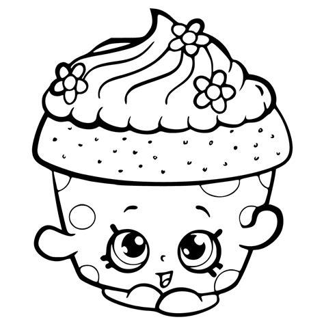a coloring page of shopkins shopkins coloring pages best coloring pages for kids