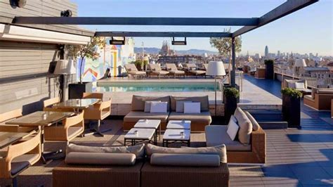roof top bars barcelona la dolce vitae at majestic hotel rooftop bar in