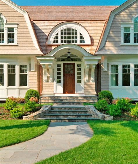 exterior front entrance stair ideas home garden