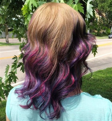 dimensional color hair definition 30 luxuriously royal purple ombre hair color ideas