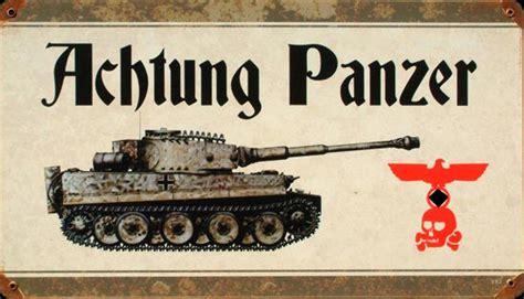 achtung panzer el desarrollo de achtung panzer plaque metal