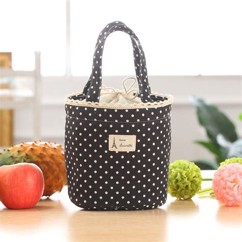 lunch tote thermal insulated lunch box cooler bag tote bento pouch lunch container lucky ebay