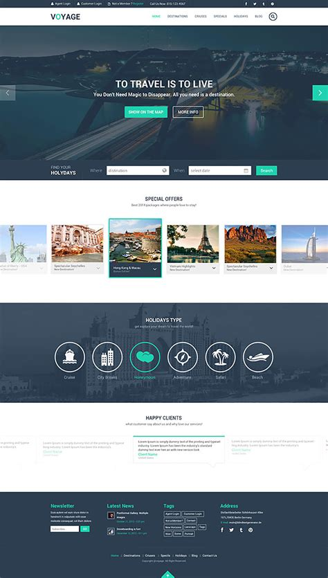 20 Beautiful Psd Templates You Can Download For Free Hongkiat Free Website Design Templates