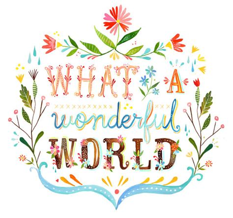 what a wonderful world monday inspiration quotes louis armstrong what a