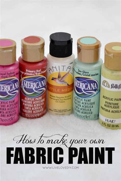 acrylic paint on fabric livelovediy 10 painting tips tricks you never knew