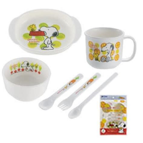 Set Hk 1 richell snoopy feeding set 1 babyonline