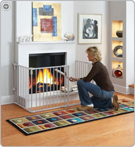 Fireplace Child Safety by States Industries Superyard 3 In 1 Metal Gate