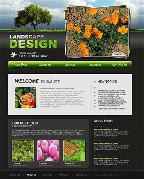 landscape design website landscape design website template best website templates