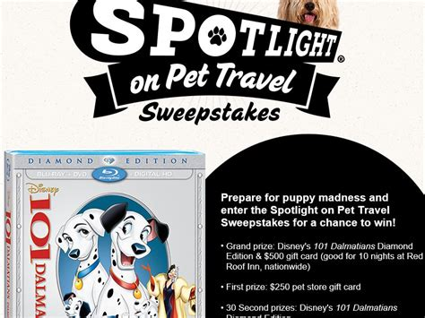 Sweepstakes Fanatics - red roof inn spotlight on pet travel sweepstakes sweepstakes fanatics