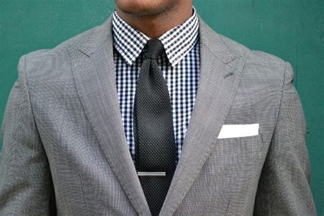 pattern shirt with dark gray suit gray suit and black checkered shirt suits pinterest
