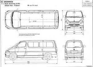 cargo vans blog sk 229 pbilsbloggen toyota hiace dimensions