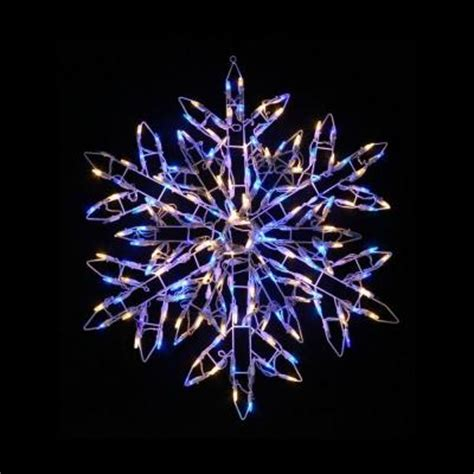 2 9 ft 180 light led warm white and blue twinkling