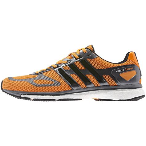 Adidas Marathon Black Orange adidas mens adizero adios boost running shoes orange