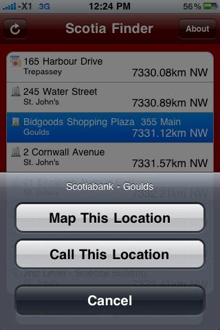 Address Lookup Scotia Td Bank Scotiabank Finder For Iphone Iphone In Canada
