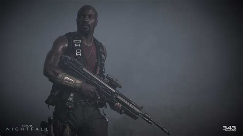 mike colter agent locke check out these new images from halo nightfall vg247