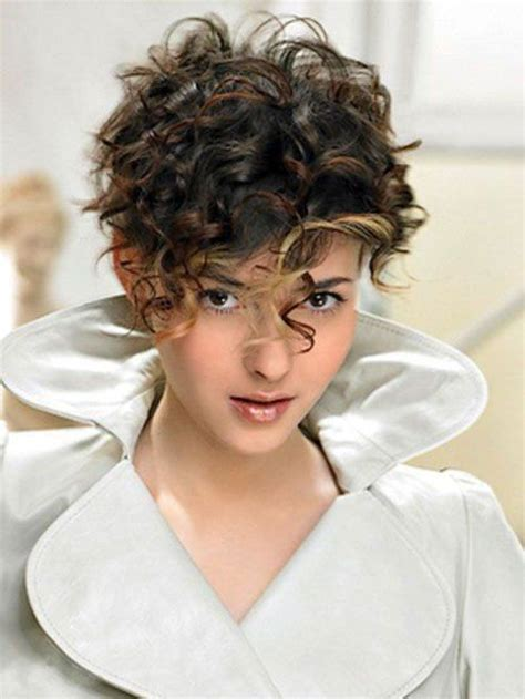 short hairstyles  thick curly hair short curly