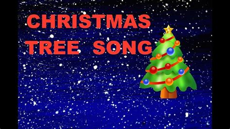 christmas tree songs for kids tree song for