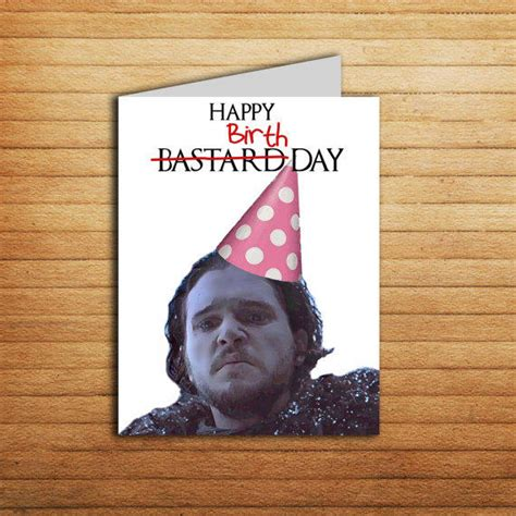 Thrones Birthday Card Game Of Thrones Birthday Card Printable From Enjoyprintable On
