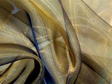 sheer fabric two tone sheer organza dress fabric ttsheerorg m ebay