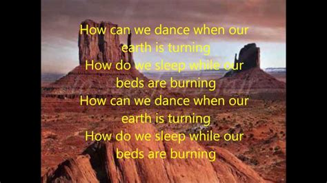 Midnight Beds Are Burning Lyrics beds are burning midnight lyrics