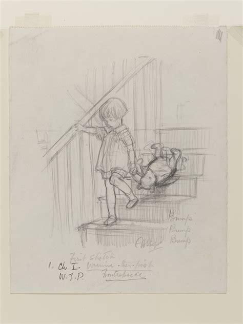 E H Shepard Sketches by V A To Host Uk S Largest Winnie The Pooh Exhibition The