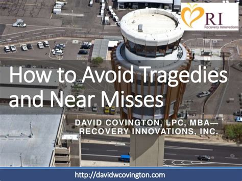 David Covington Lpc Mba Ceo And President At Ri International by What Crisis Should Learn From Air Traffic