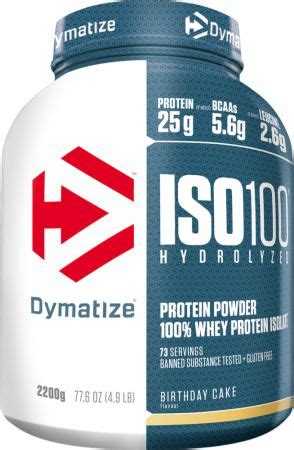 New Iso 100 Iso100 Dymatize Nutrition Ecer 3 Lbs iso100 whey protein isolate dymatize