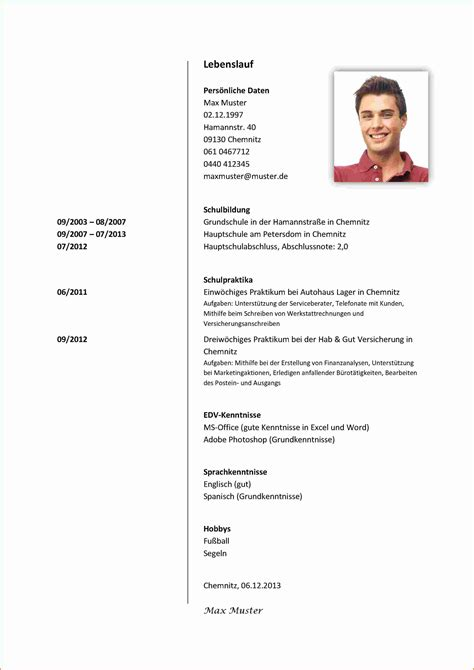 Lebenslauf Schuler Vorlage 7 lebenslauf vorlage sch 252 ler transition plan templates